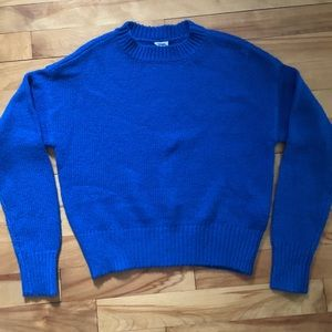Garage royal blue Sweater